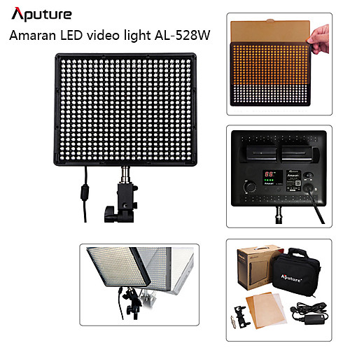 Aputure Amaran AL-528W светодиодные Digital Video Освещение Canon Nikon Sony F926 Lightinthebox 5843.000