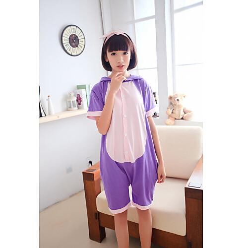 Sailor Moon Луна Диана кошка фиолетовый хлопок кигуруми пижамы для лета Lightinthebox 1288.000