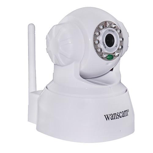 Камера видеонаблюдения IP, с функцией угло-управления и обнаружения движения (ночное видение, бесплатный DDNS) Lightinthebox 1501.000