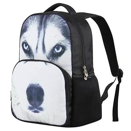 недавно мультфильм пу волк напечатаны рюкзак Unisex автора
