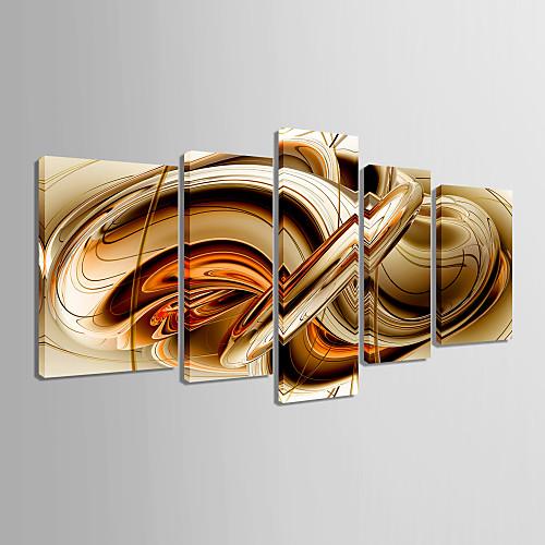 Абстракция печатная из 5 полотен Lightinthebox 4296.000