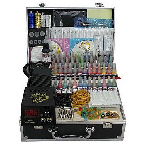 4 орудия татуировки комплекте с ЖК власти и 55 цветных чернил Lightinthebox 6874.000