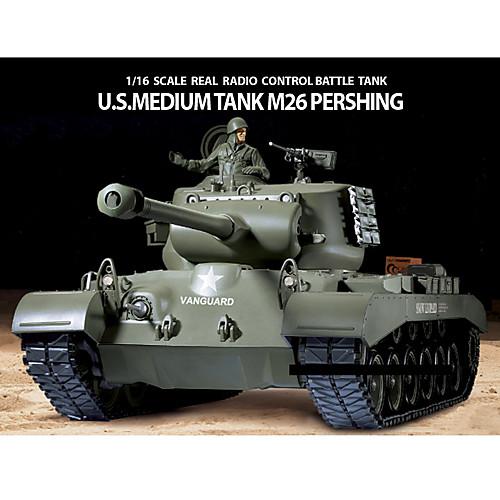 Хэн Длинные 1:16 США M26 Pershing дистанционного Тяжелая боевой танк Lightinthebox 5156.000