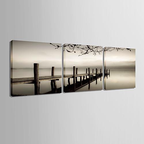 Натянутым холстом садово-паркового искусства мосту пересечь море Набор из 3 Lightinthebox 3007.000
