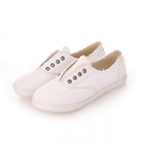 Холстины Женские плоский каблук Комфорт Мода кроссовки обувь (больше цветов) Lightinthebox 1073.000