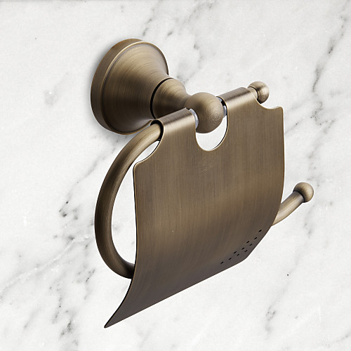 Держатель для туалетной бумаги Высокое качество Античный Латунь 1 ед. - Гостиничная ванна