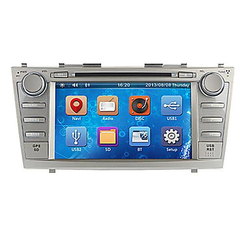 8Inch 2 Дин В-Dash DVD-плеер автомобиля для Toyota Camry 2007-2011 с GPS, BT, IPOD, RDS, FM, сенсорный экран Lightinthebox 7734.000