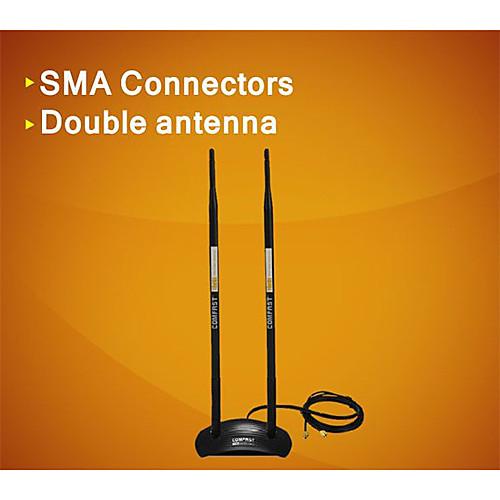 comfast CF-ant2410da 20DBi 2,4 ГГц всенаправленная антенна Wireless WiFi RP-SMA магнит-черный Lightinthebox 472.000
