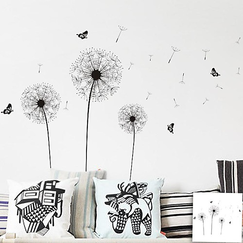 Dandelion decal wall art high def pictures