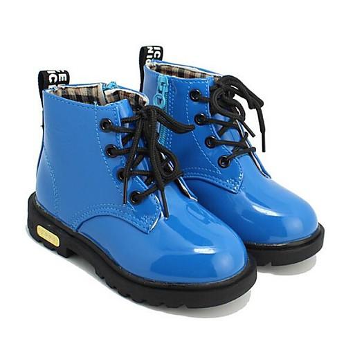 Combat Boots - Кожа - Ботинки ( Черный/Синий/Желтый/Красный )