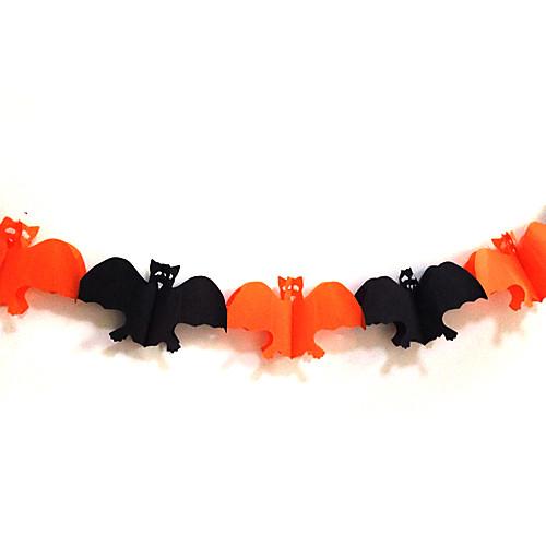Хэллоуин Bat бумаги гирлянды Lightinthebox 300.000