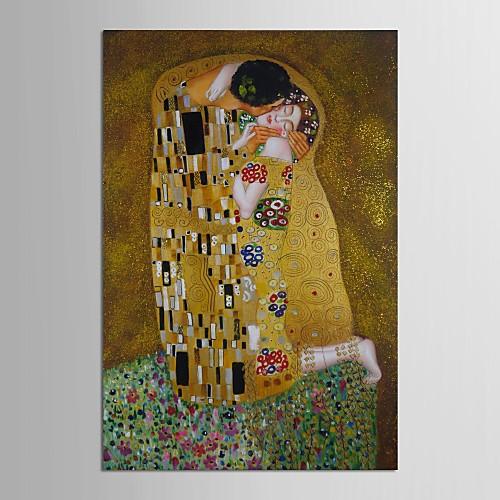 Картина Густава Климта, ручная роспись маслом на холсте с золотой фольгой Lightinthebox 5585.000