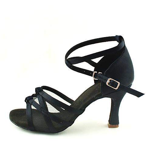 Танцевальные туфли с верхом из атласа Lightinthebox 1288.000