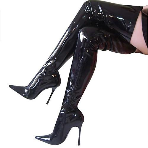 Samba женские сапоги шпилька молния танцевальной обуви (больше цветов)