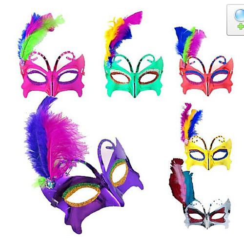 флэш-пластик-фантазии-платье-партии-хэллоуин-маска-случайный-цве-т