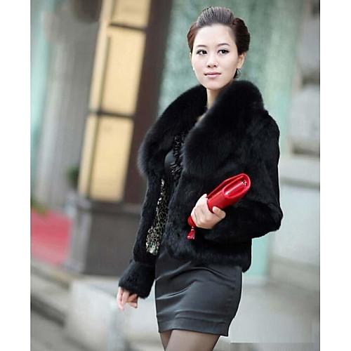 шубы полушубок женская мода тонкий мех жакет (больше цветов) от Lightinthebox.com INT