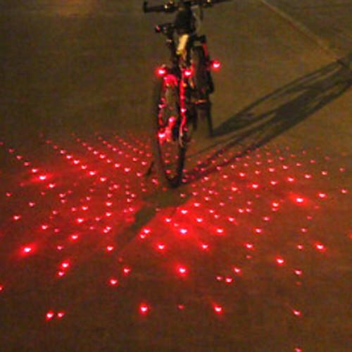 Велосипедные фары Передняя фара для велосипеда Задняя подсветка на велосипед бар ограничительные огни LED Laser ВелоспортБудильник
