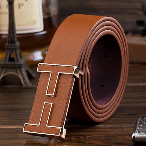Мужской, широкий ремень, с металлической пряжкой от Lightinthebox.com INT