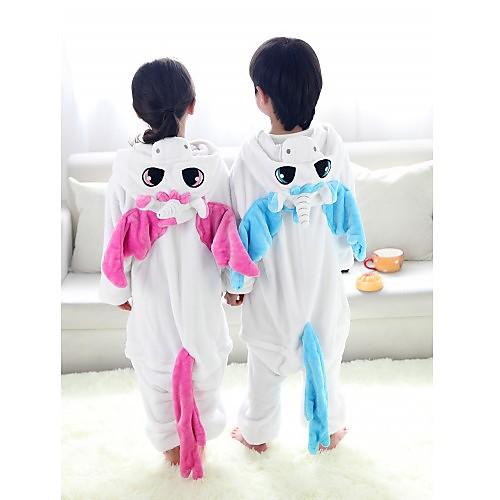 Синий Единорог фланели Дети Kigurumi пижамы Lightinthebox 1288.000