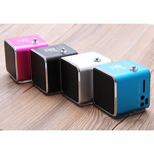 Небольшой кубический FM радио приемник (MicroSD, USB, FM радио, разные цвета) Lightinthebox 384.000