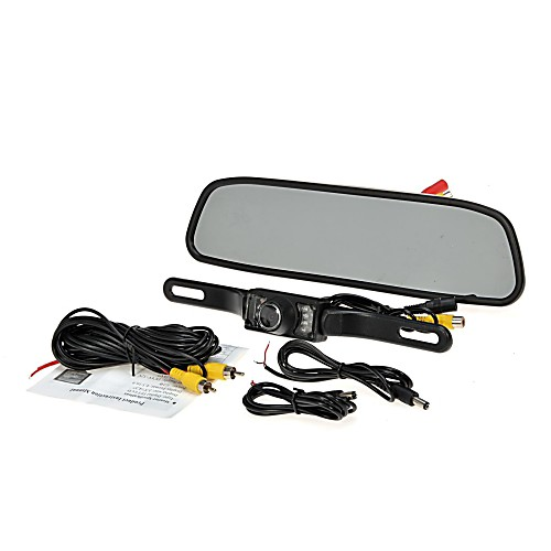 """4.3 """"""""TFT монитор вид сзади автомобиля система жк резервного копирования обратная комплект камеры ночного видения от Lightinthebox.com INT"""