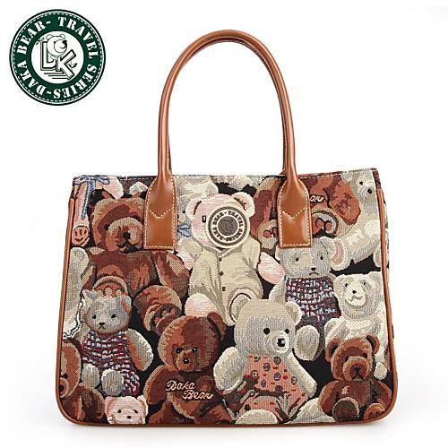 Дака bear Женская мода милые сумки на ремне сумки кошелек тонкий ремень большой площади тотализатор