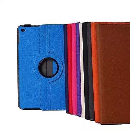 Jeans Series Premium Textile 360 Degree Rotating Stand Smart Case Cover for iPad Air 2 (Assorted Colors)