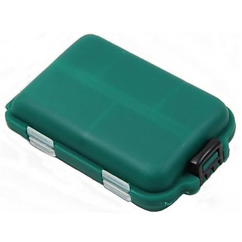 Коробка для рыболовной снасти Коробка для мормышек Водонепроницаемый Жесткие пластиковые 9.5 cm6,5 см2.7 cm фото