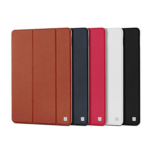 TAVT Elegant Genuine Leather Full Body Case with Stand for iPad Air 2 (Assorted Color)
