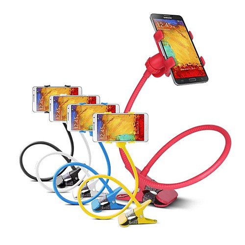 Multi-Function Phone Gimbals Lazy Bedside Bed Phone Holder Tools for Samsung and Other Brands (Assorted Colors)