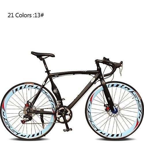 Дорожные велосипеды Велоспорт 7 Скорость 26 дюймы / 700CC SHIMANO TX30 Двойной дисковый тормоз Обычные Моноблок Обычные Алюминиевый сплав