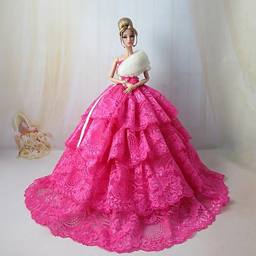 Фото пышных платьев для кукол