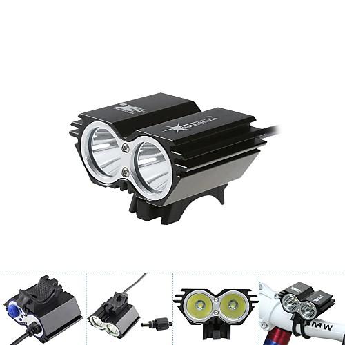 Велосипедные фары / Светодиодные лампы / Передняя фара для велосипеда / велосипед свечения лампы LED Cree XM-L T6 Велоспорт