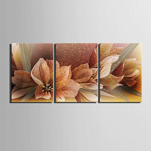 e-home-де-коративная-роспись-на-холсте-де-ре-во-цве-ток-инсталляция-из-тре-х-картин