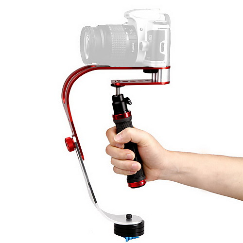 DEBO Видео портативный стабилизатор UF-007 для зеркальной камеры - красный  черный  Щепка от Lightinthebox.com INT