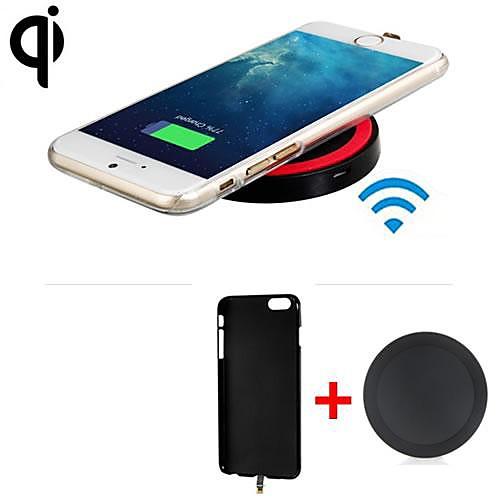 Ци стандарт беспроводной зарядное устройство приемник задняя крышка  беспроводной передатчик для iphone 6 / iphone 6s