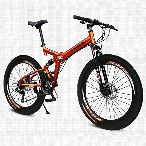 Горный велосипед / Складные велосипеды Велоспорт 21 Скорость 26 дюймы / 700CC SHINING SYS Двойной дисковый тормоз Пневматическая вилка Обычные Алюминиевый сплав