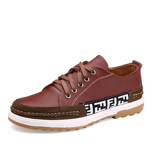 Кожа/Искусственная замша - MEN - Закрытый мыс - Туфли на шнуровке