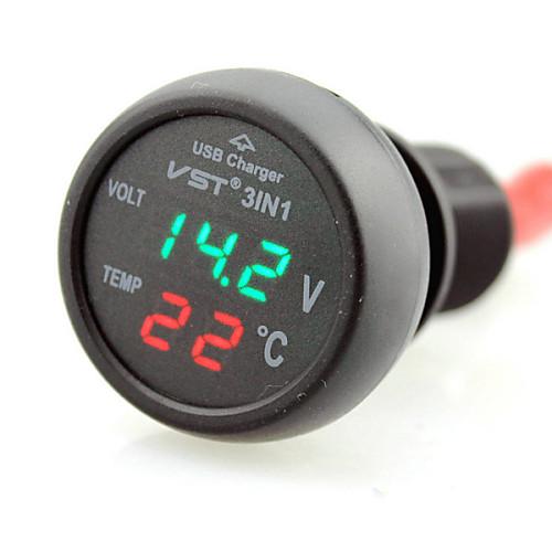 Светодиодный дисплей 1 USB порт Только зарядное устройство DC 5V/2,1A от Lightinthebox.com INT