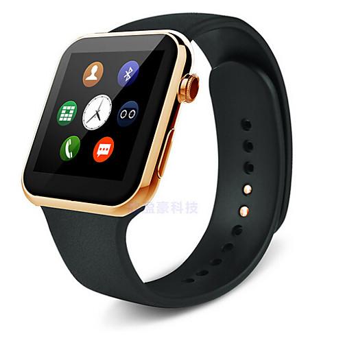 YY-A99 Смарт Часы Android iOS Bluetooth USB Спорт Пульсомер Сенсорный экран Израсходовано калорий / Длительное время ожидания / Хендс-фри звонки / Таймер / Напоминание о звонке, Серый