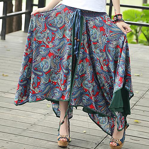 DMI ™ этнической печати свободно юбка женская (больше цветов)
