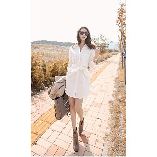 2015 мода весна простой белой рубашке юбки