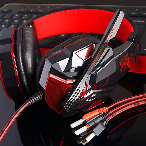 Plextone PC780 Наушники с оголовьемForМедиа-плеер/планшетный ПК КомпьютерWithС микрофоном Регулятор громкости Игры Устройство от Lightinthebox.com INT