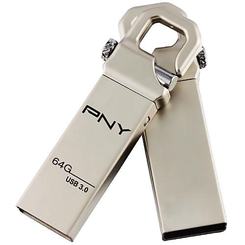 Pny 64gb usb 3.0 флеш-накопитель металлический стиль крюк attache3.0 cle от Lightinthebox.com INT