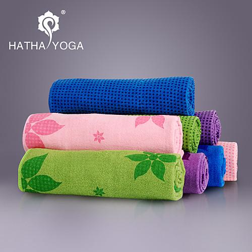 Yoga Полотенца Номера скольжения / Липкий / Non Toxic / Быстровысыхающий Superfine fiberРозовый / Зеленый / Тёмно-синий / <br>