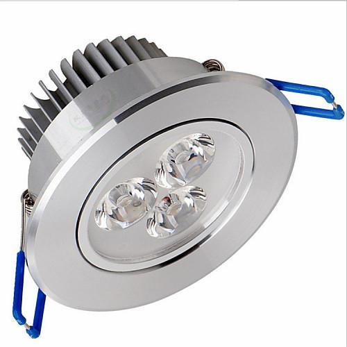 ZDM 1шт 6 W 500-550 lm 3 Светодиодные бусины Высокомощный LED Диммируемая / Декоративная Тёплый белый / Холодный белый / Естественный белый 220-240 V / 110-130 V / 1 шт. / 65 / RoHs