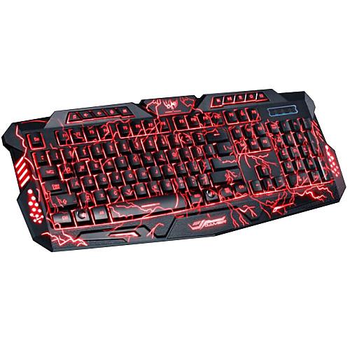 Игровая клавиатура USB Проводная, 114-клавишная со светодиодной програмируемой подсветкой DuShiFangYuan от Lightinthebox.com INT