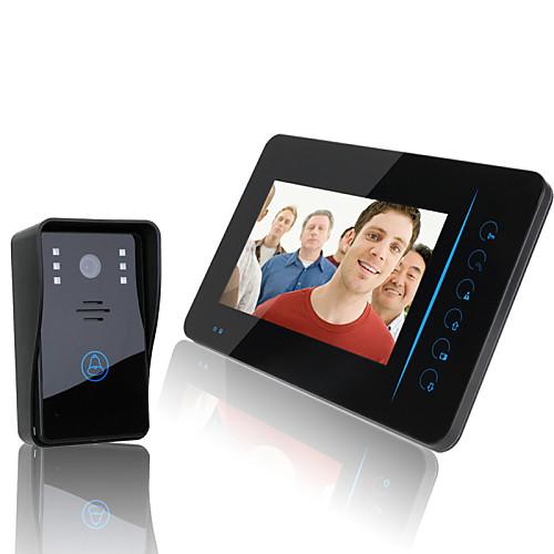 """Ennio 2.4g 7 """"""""tft беспроводной видео домофон домофон домофон домашний монитор камеры безопасности dvr от Lightinthebox.com INT"""