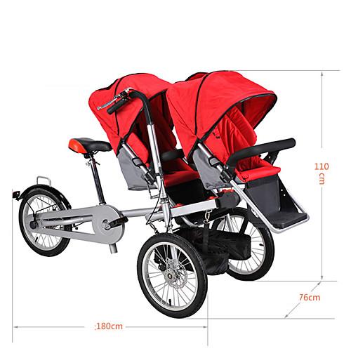 Складные велосипеды Велоспорт Others 16 дюймы Обычные Обычные Моноблок Обычные Сталь / 2 до 3 лет / От 3 до 5 лет / Да / #, Красный
