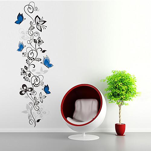 Животные Геометрия Цветы Мультипликация Наклейки Простые наклейки Декоративные наклейки на стены, ПВХ Украшение дома Наклейка на стену фото